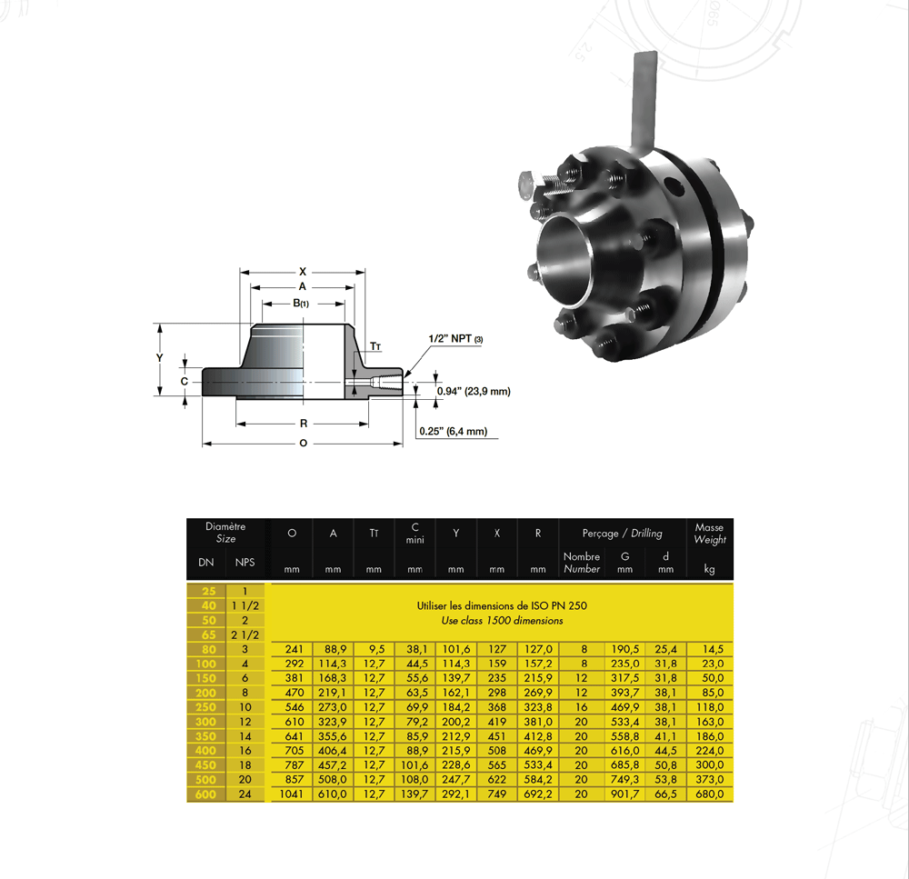 Orifce-Flanş-900LB